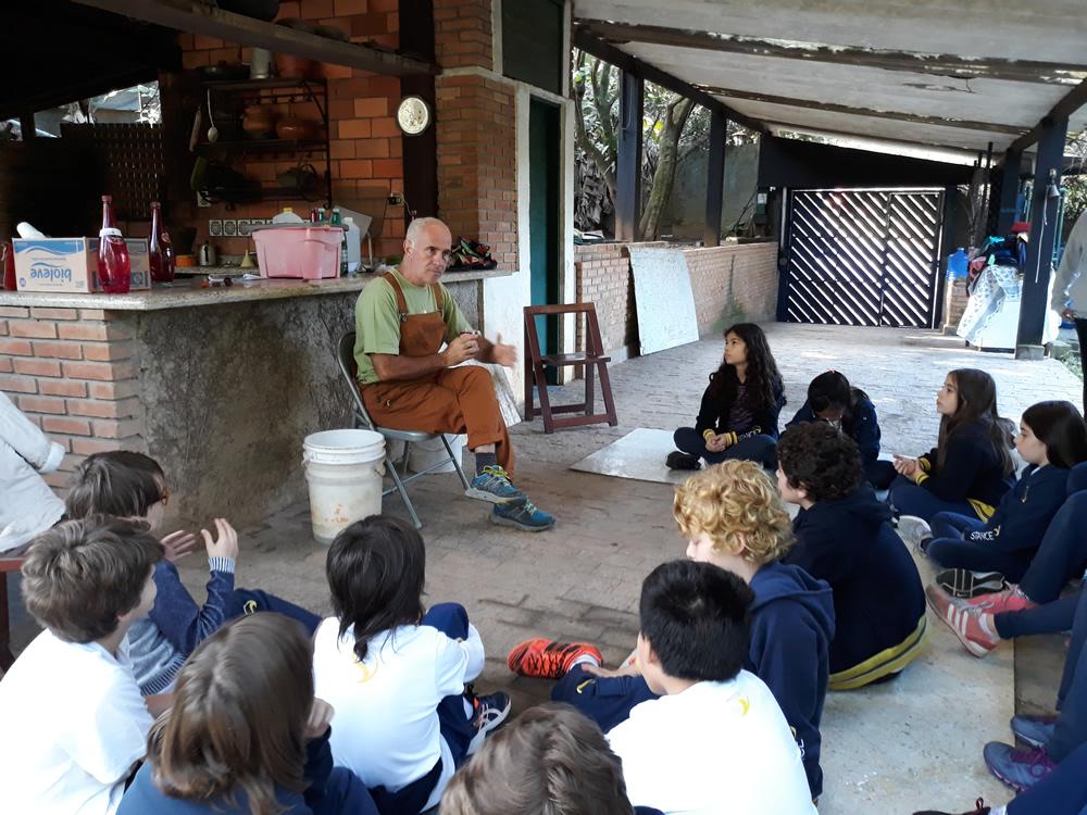 Visita Pedagógica à Escola de Reciclagem 5º ano