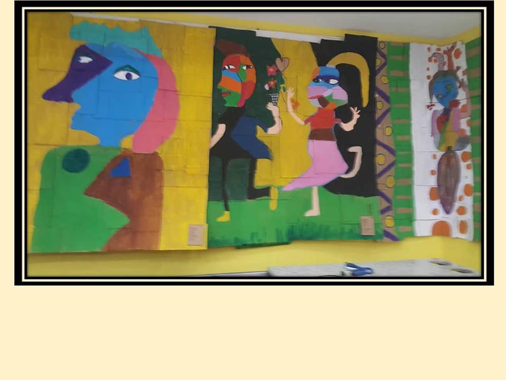 Mural de Artes - 6º ano