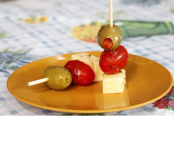 Snack in skewers - Year 1
