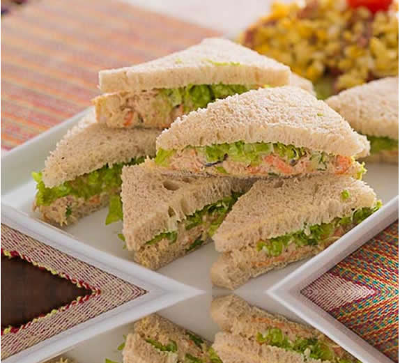 Shredded chicken sandwich - Year 4